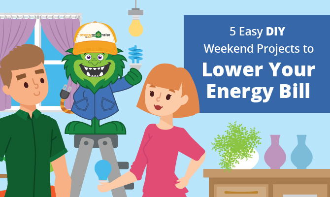weekend-projects-to-lower-energy-bill