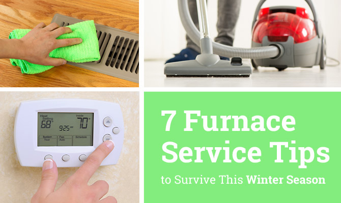 furnace service tips to survive winter