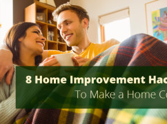home improvement hacks to make a home cozy