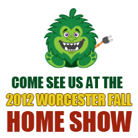 Energy Monster at the Worcester Home Show