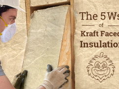 Kraft Faced Insulation