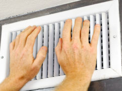 how to troubleshoot ac blowing hot air