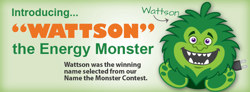 Introducing Wattson the energy monster