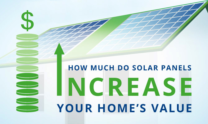 How much do solar panels increase a home s value for How to increase home value
