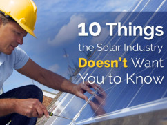 how to avoid a problem with solar energy