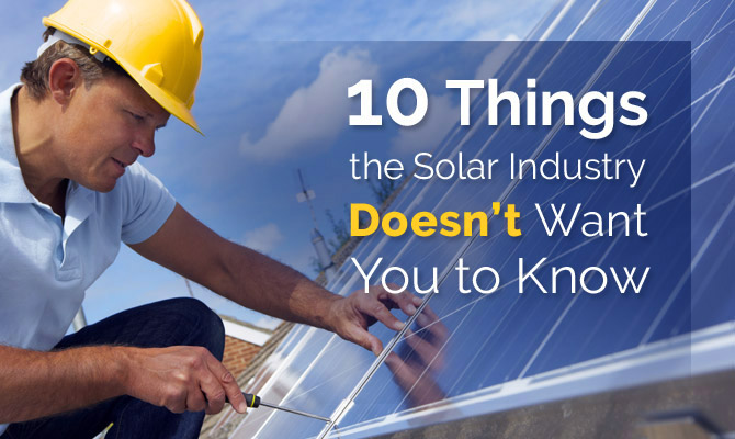 avoid problem with solar energy