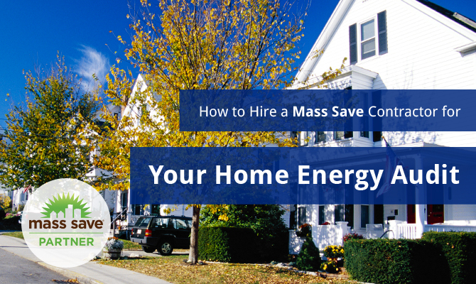 mass save home energy audit