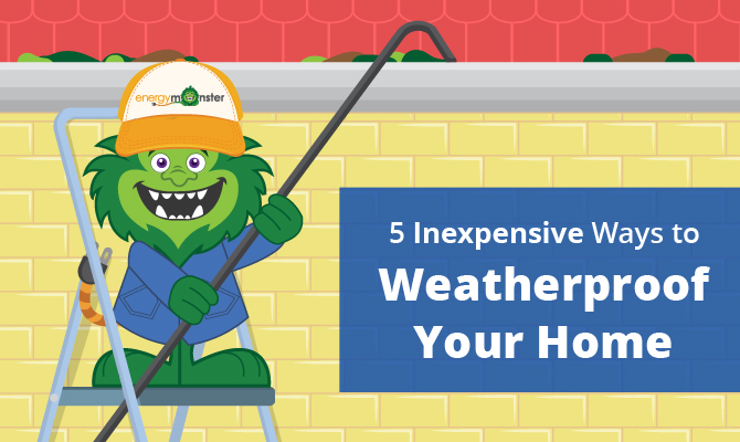 Ways to Weatherproof Your Home