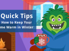 how to keep home warm in winter