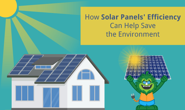 how solar panels 39 efficiency can help save the environment. Black Bedroom Furniture Sets. Home Design Ideas