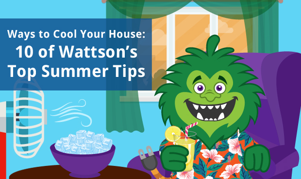 ways to cool your house