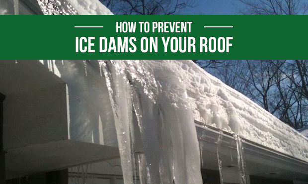 how to prevent ice dams on roof